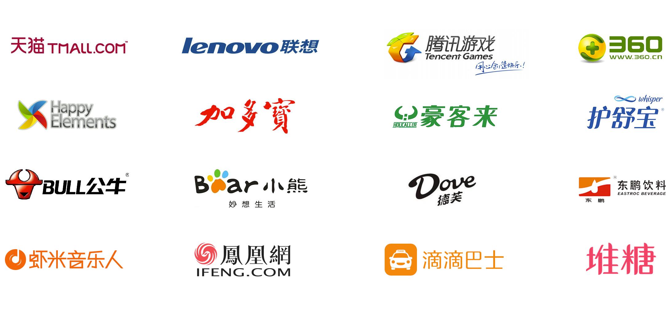 各行业手绘logo